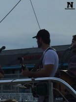 Chuck Wicks during Mic check